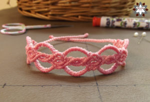 Macrame bracelet tutorial instructions