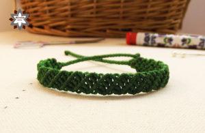 Macramotiv knotted bracelet tutorial DIY
