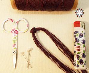 Macramotiv micro-macrame knotted bracelet tutorial DIY