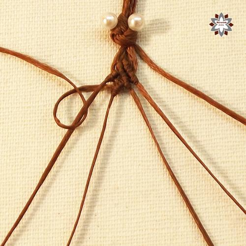 Macramotiv macrame knotted bracelet tutorial DIY how to knotting instructions step-by-step migramah