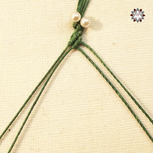 Macramotiv micro-macrame knotted bracelet tutorial DIY instructions
