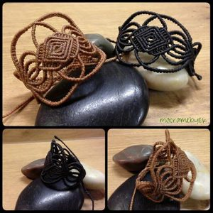 Complex Macrame Bracelet