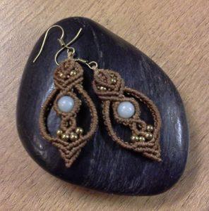 macrame, micro-macrame, knotting, jewellery