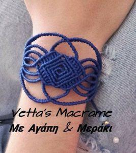 Macramotiv macrame bracelet