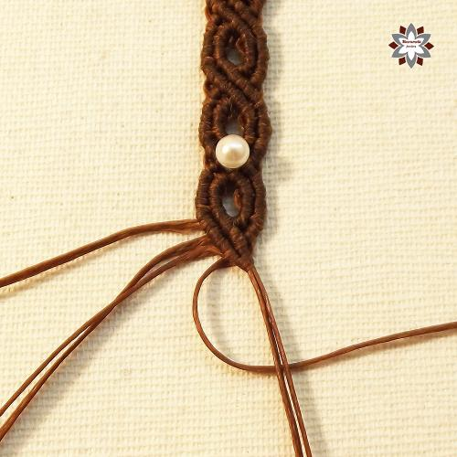 Macramotiv macrame knotted bracelet tutorial DIY how to knotting instructions step-by-step migramah
