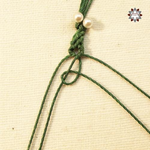 Macramotiv micro-macrame knotted bracelet tutorial DIY instructions