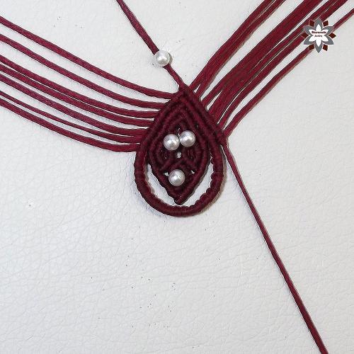 macramotiv.com micro-macrame macrame knotting knotted earring jewellery textile howto instructions stepbystep steps step-by-step makramé makrame macramé csomózás ékszer csomózott lépések csomózni migramah