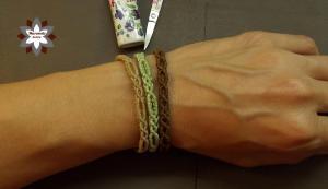 Macramotiv macrame bracelet tutorial