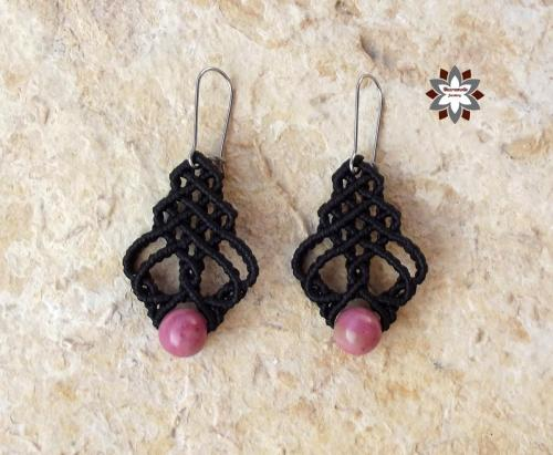 Macramotiv micro-macrame earrings macramotiv.com